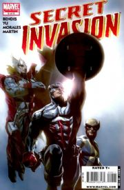 Secret Invasion #8 (2008) Marvel comic book